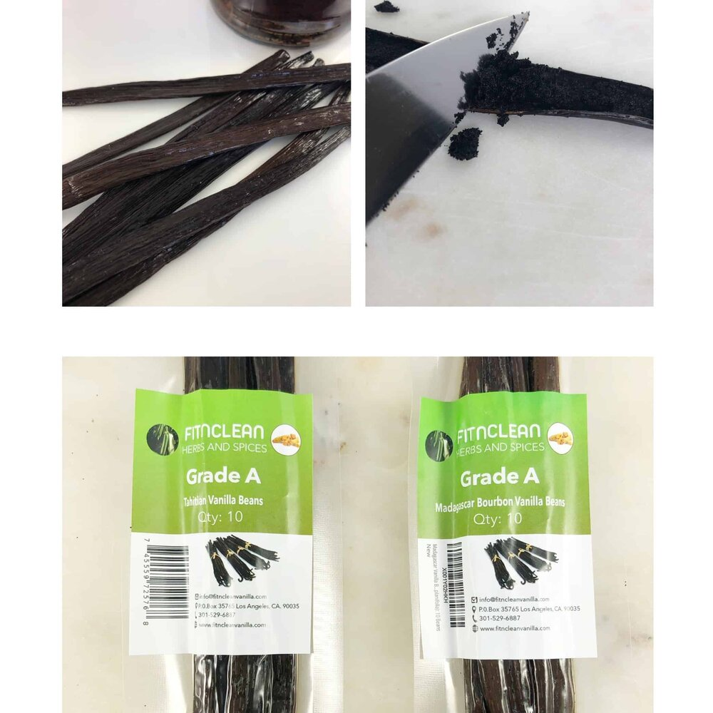 Fitnclean vanilla beans.  The perfect vanilla bean for whipped ricotta cream