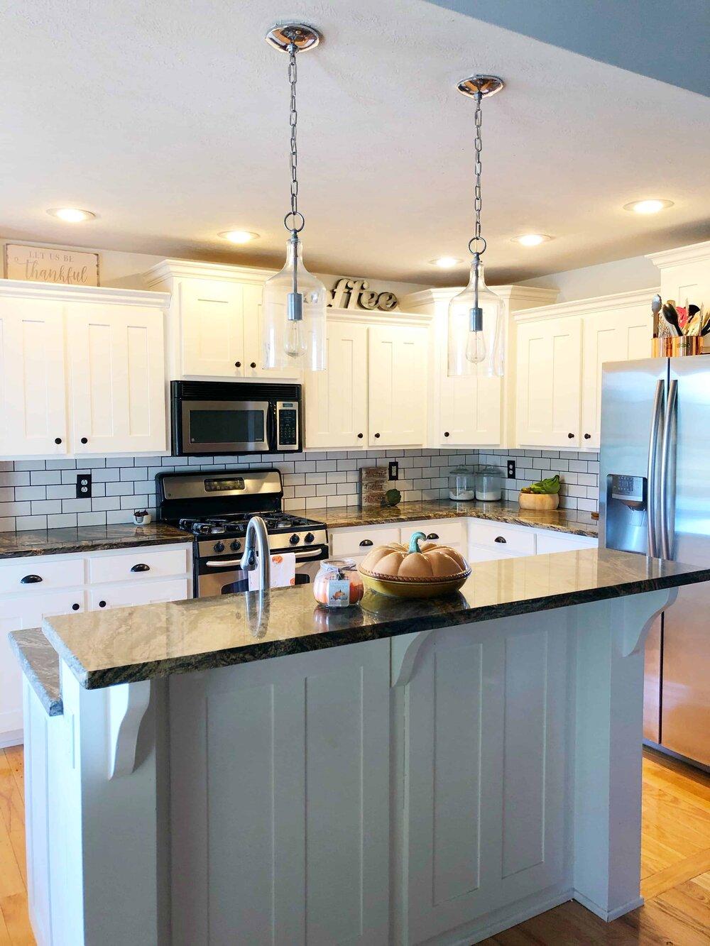 Missouri Girl Blog. DIY kitchen remodel.