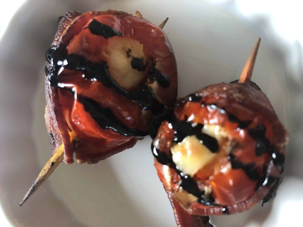 Missouri Girl cream cheese stuffed peppadew peppers.