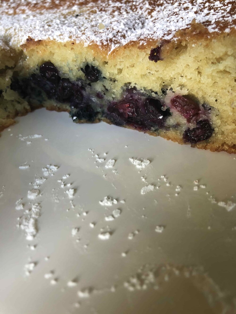 Missouri Girl Blueberry Yogurt Cake. Missouri Girl Blog
