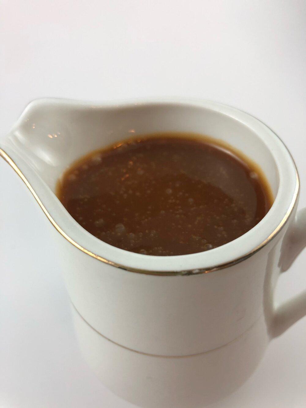 Missouri Girl quick and easy 4 ingredient homemade sea salt caramel sauce