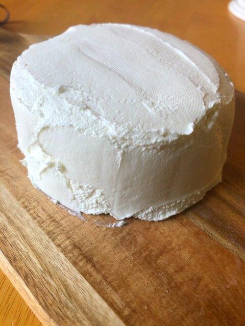 Homemade greek yogurt cream cheese