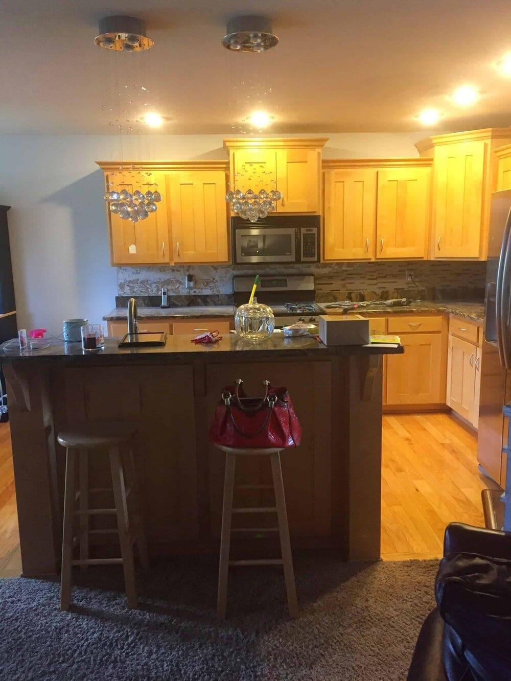 Missouri Girl DIY Kitchen Renovation. Missouri Girl Blog