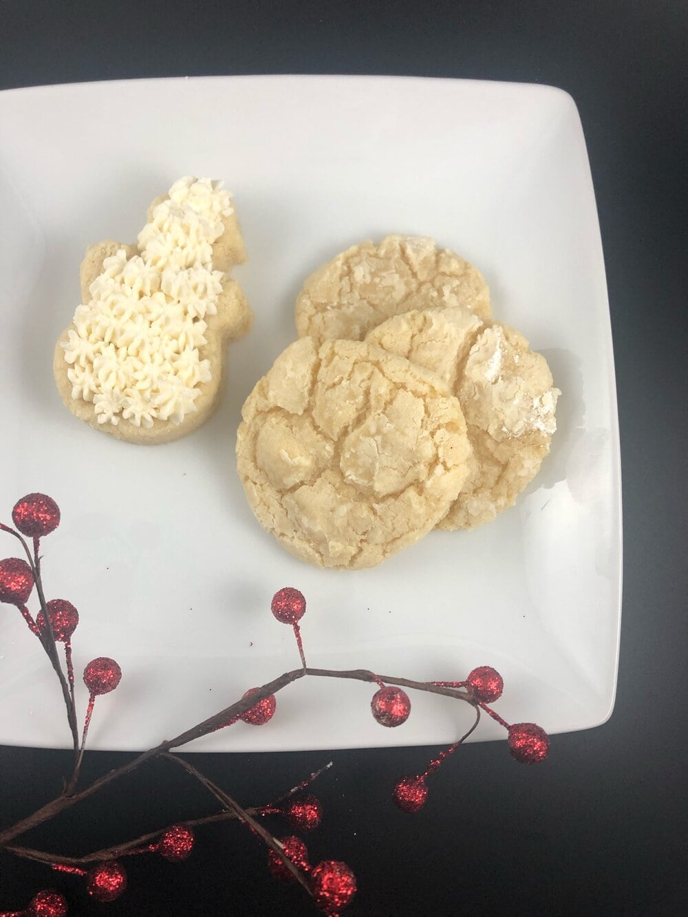 Missouri Girl Soft and Chewy Vanilla Sugar Cookies. A new take on an old favorite. Make them rounded or press into cookie cutter for cute Christmas shaped cookies. Missouri Girl. Missouri Girl blog.